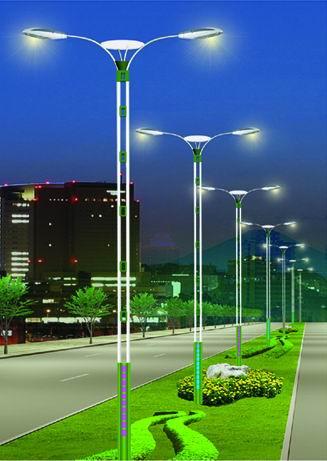 Монтаж уличного освещения территорий в Калининграде