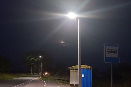 диммирование уличного освещения