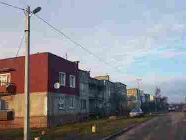 Устройство уличного освещения в п. Дивное