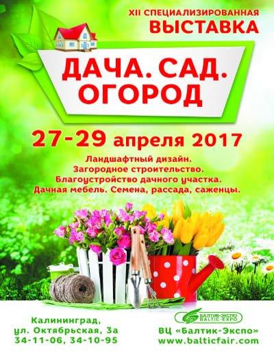 Выставка Дача. Сад. Огород 2017