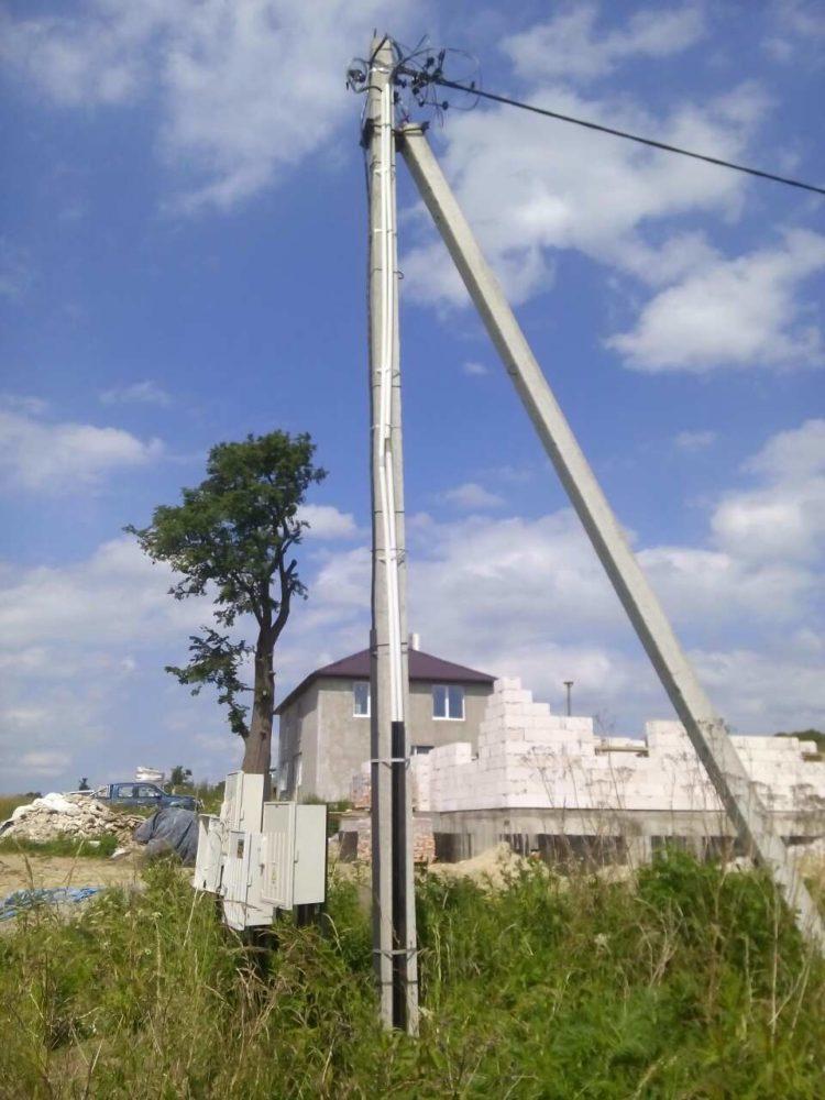 Подключение участка ИЖС к электросети в п. Нагорное