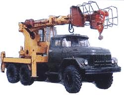 Аренда ямобура (бурильно-крановая машина) в Калининграде
